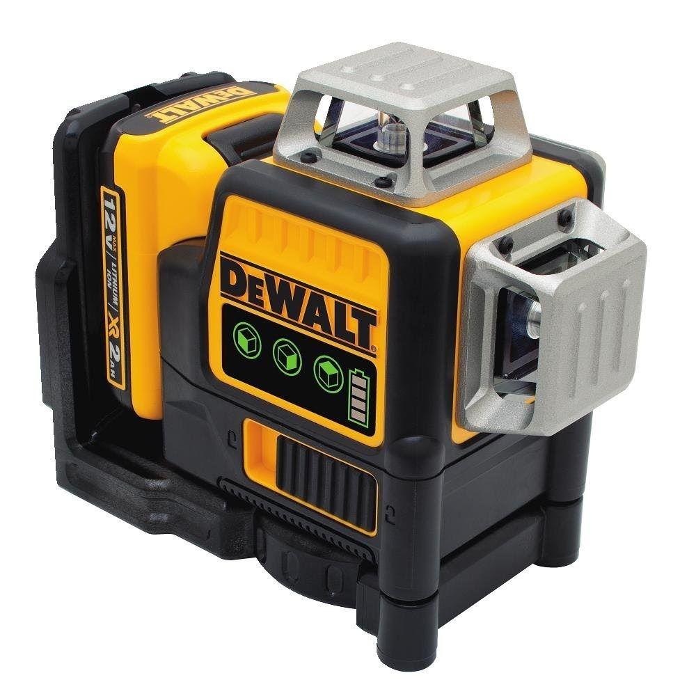 DEWALT Green 12V 360° – 3 Line Laser DW089LG
